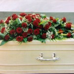Funeral flowers in Leicester